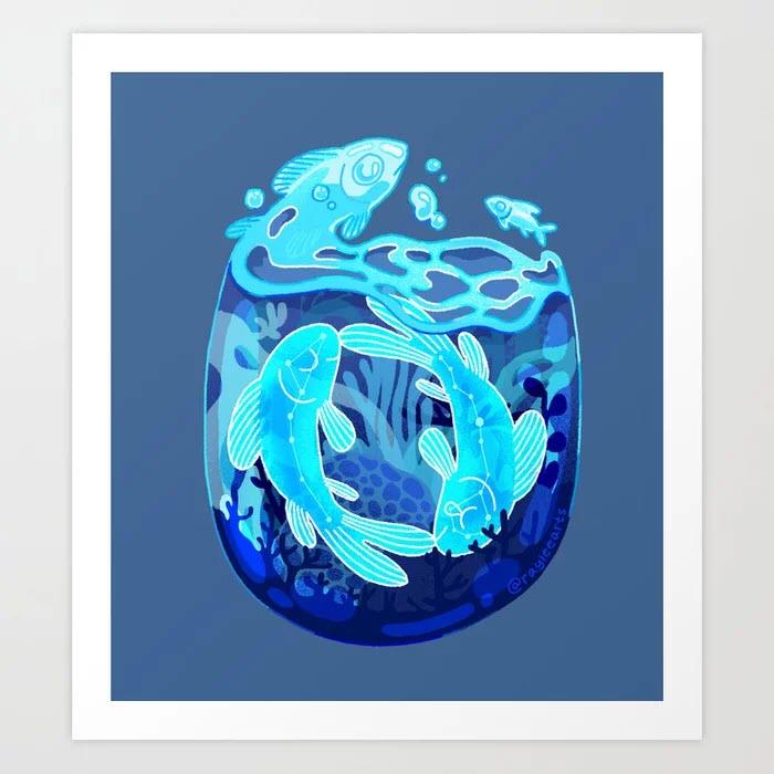 Hình ảnh cung Pisces