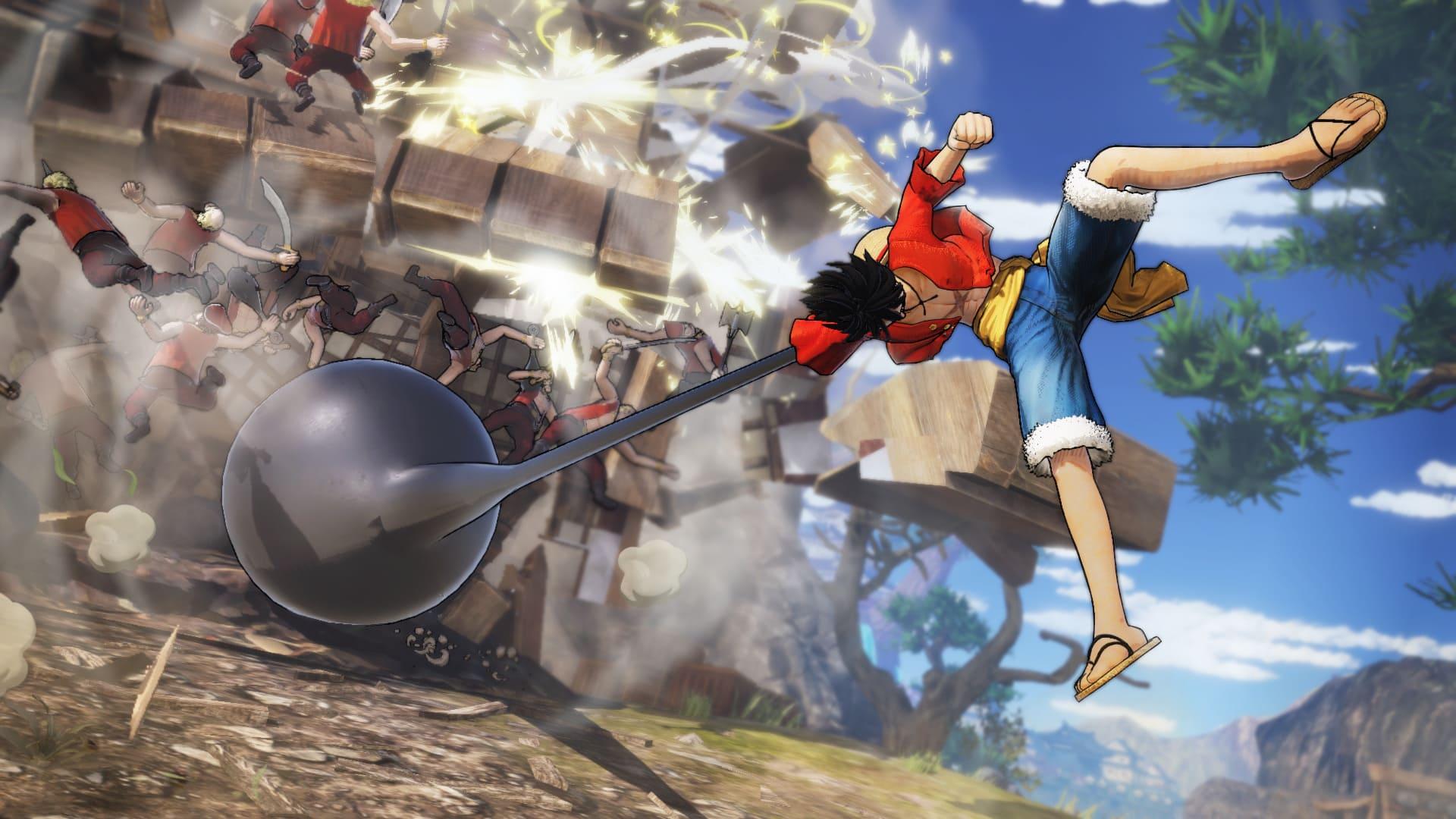 Hình ảnh Luffy 3D cực đẹp