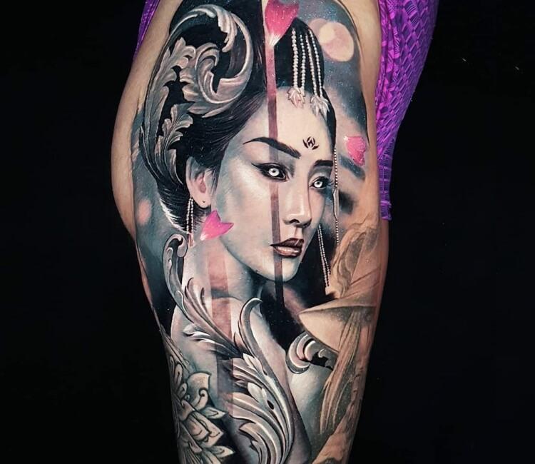 Hình xăm cô gái Nhật đẹp nhất
