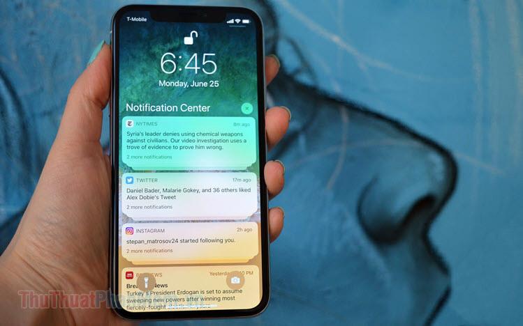 Cách ẩn nội dung tin nhắn trên màn hình khóa iPhone