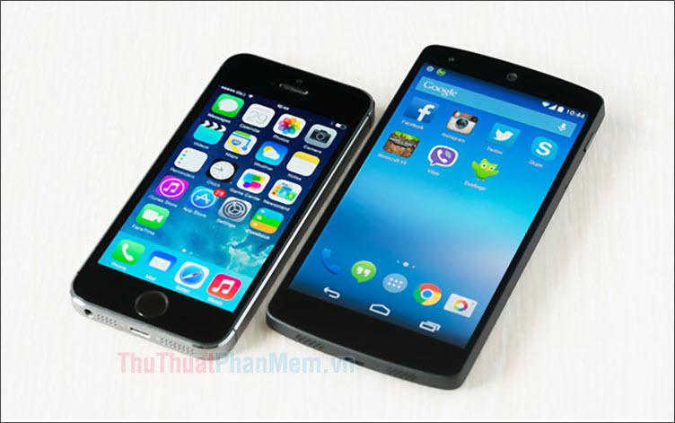 Cách chuyển nhanh dữ liệu qua lại giữa điện thoại iPhone và Android