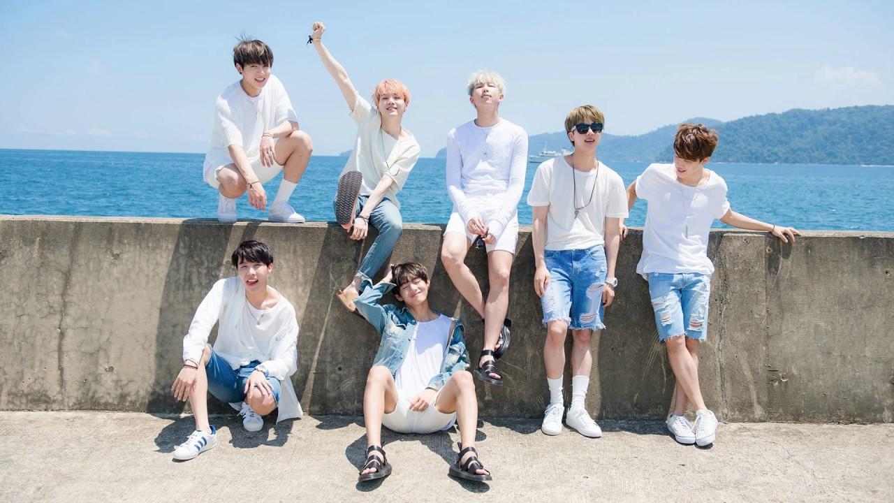 Hình nền nhóm nhạc BTS cực đẹp