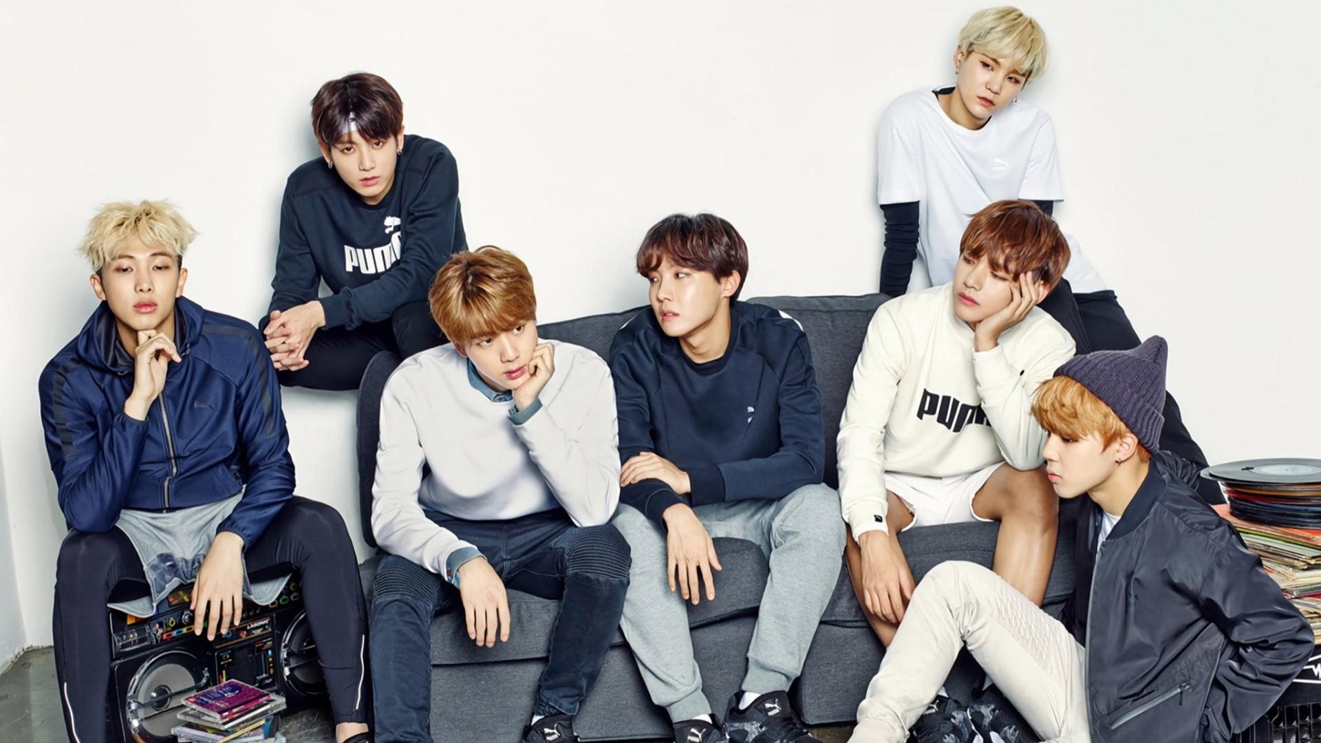 Hình nền nhóm nhạc BTS Hàn Quốc cực đẹp