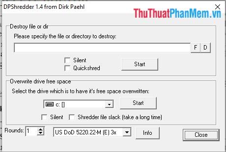 DP Shredder