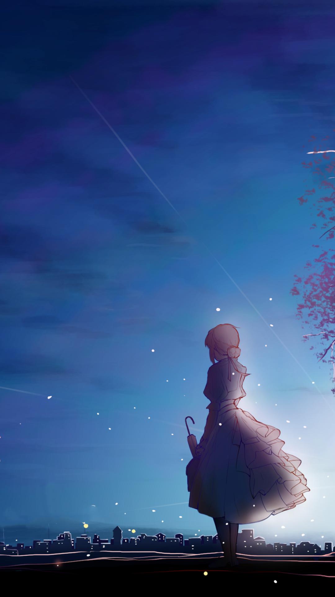 Hình nền anime girl cho Android