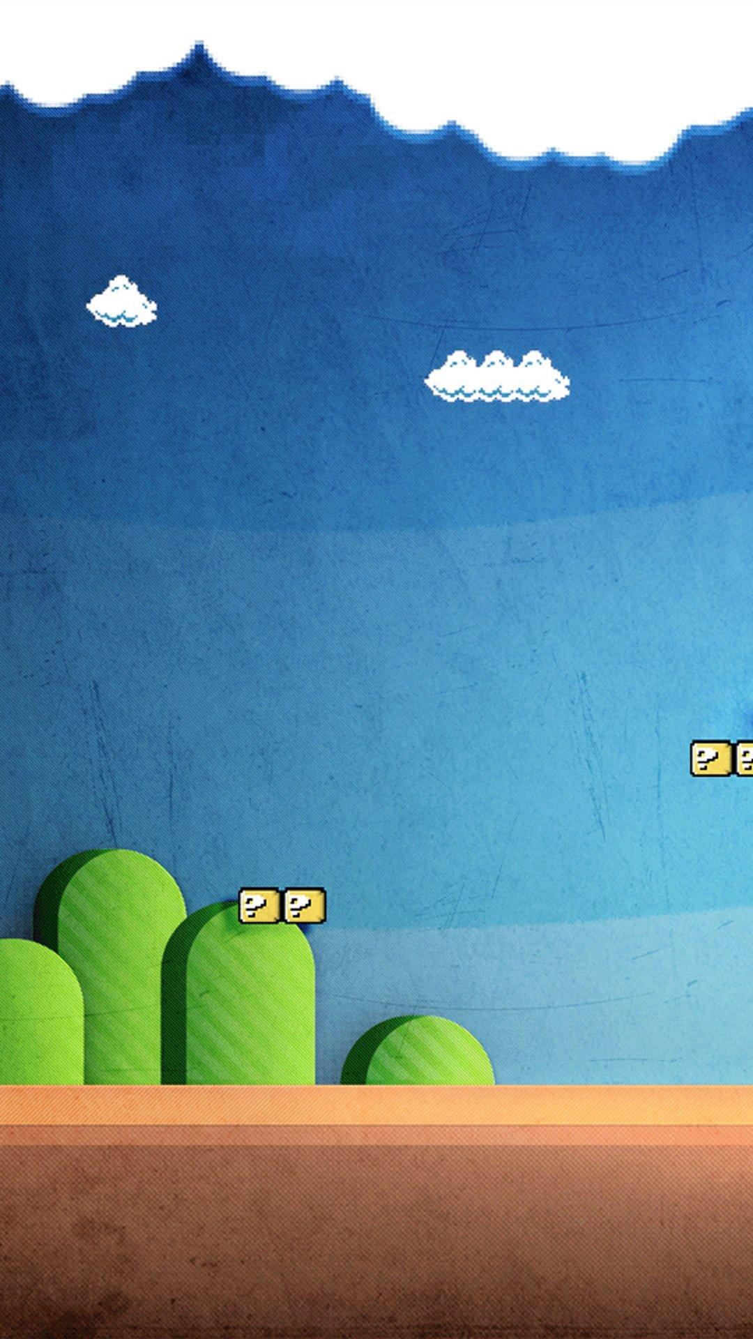 Hình nền Mario dễ thương cho Android