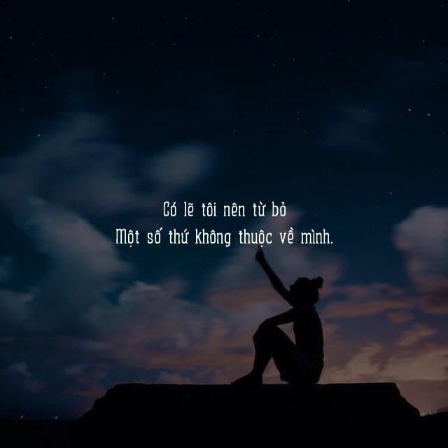 Hình quotes tâm trạng buồn và cô đơn đẹp nhất