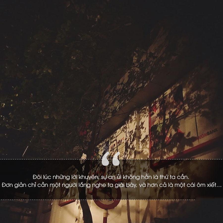 Những stt quotes buồn trong đêm