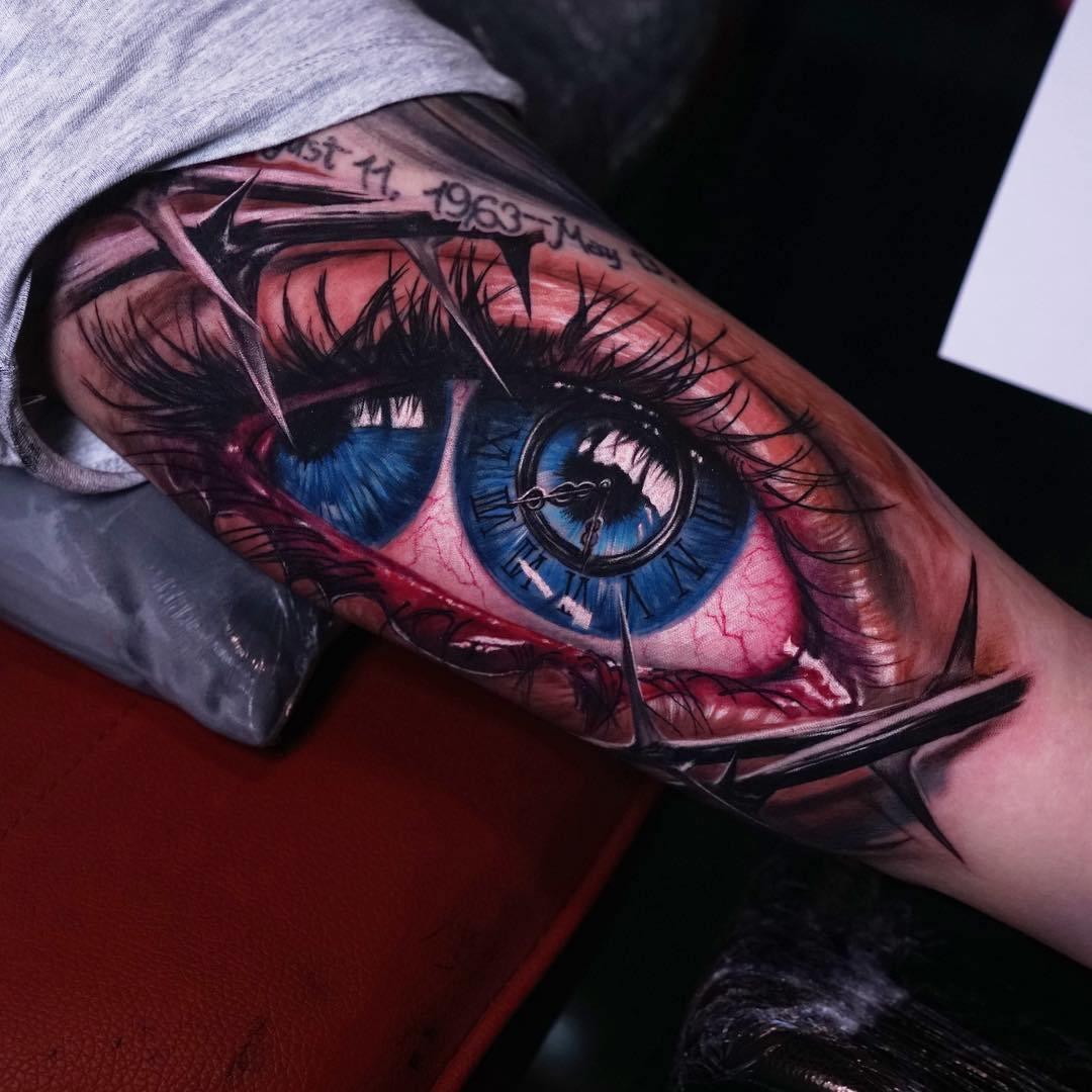 Hình xăm con mắt horus đẹp nhất