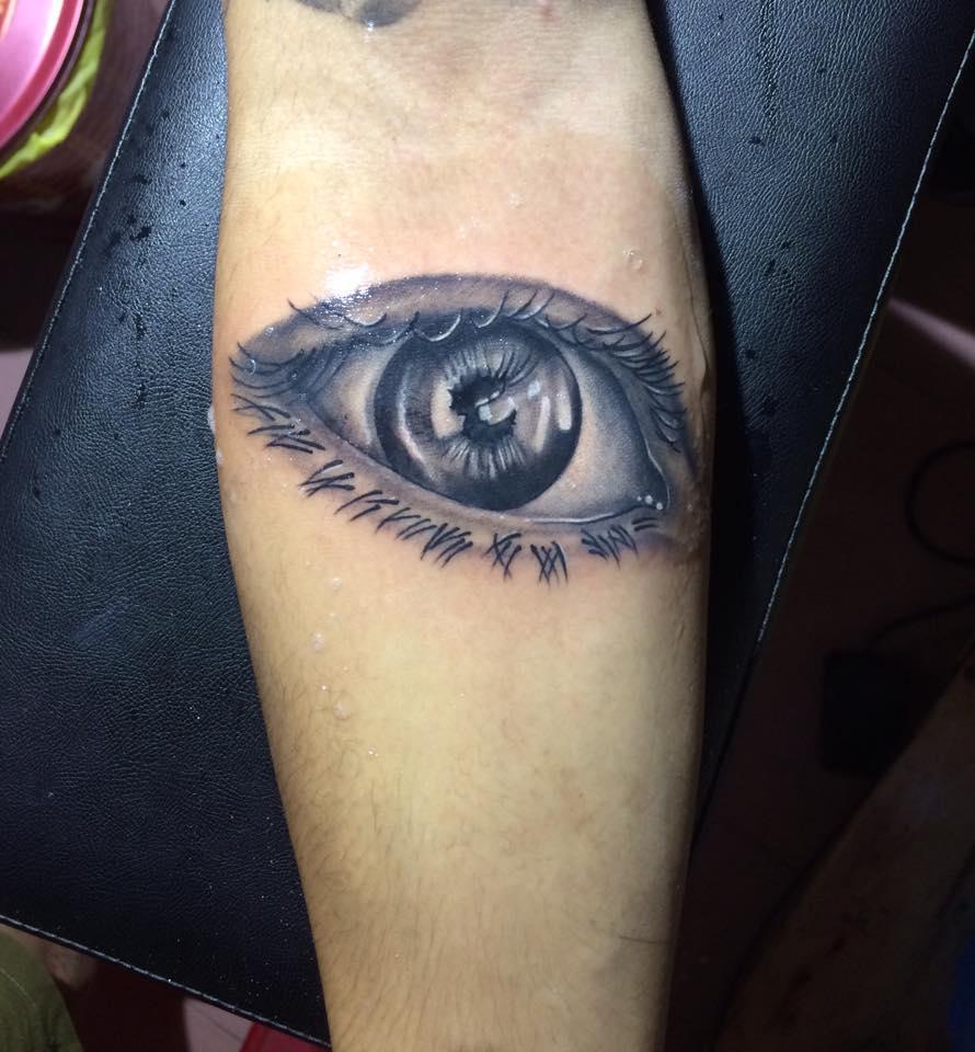 Hình xăm con mắt mini đẹp nhất