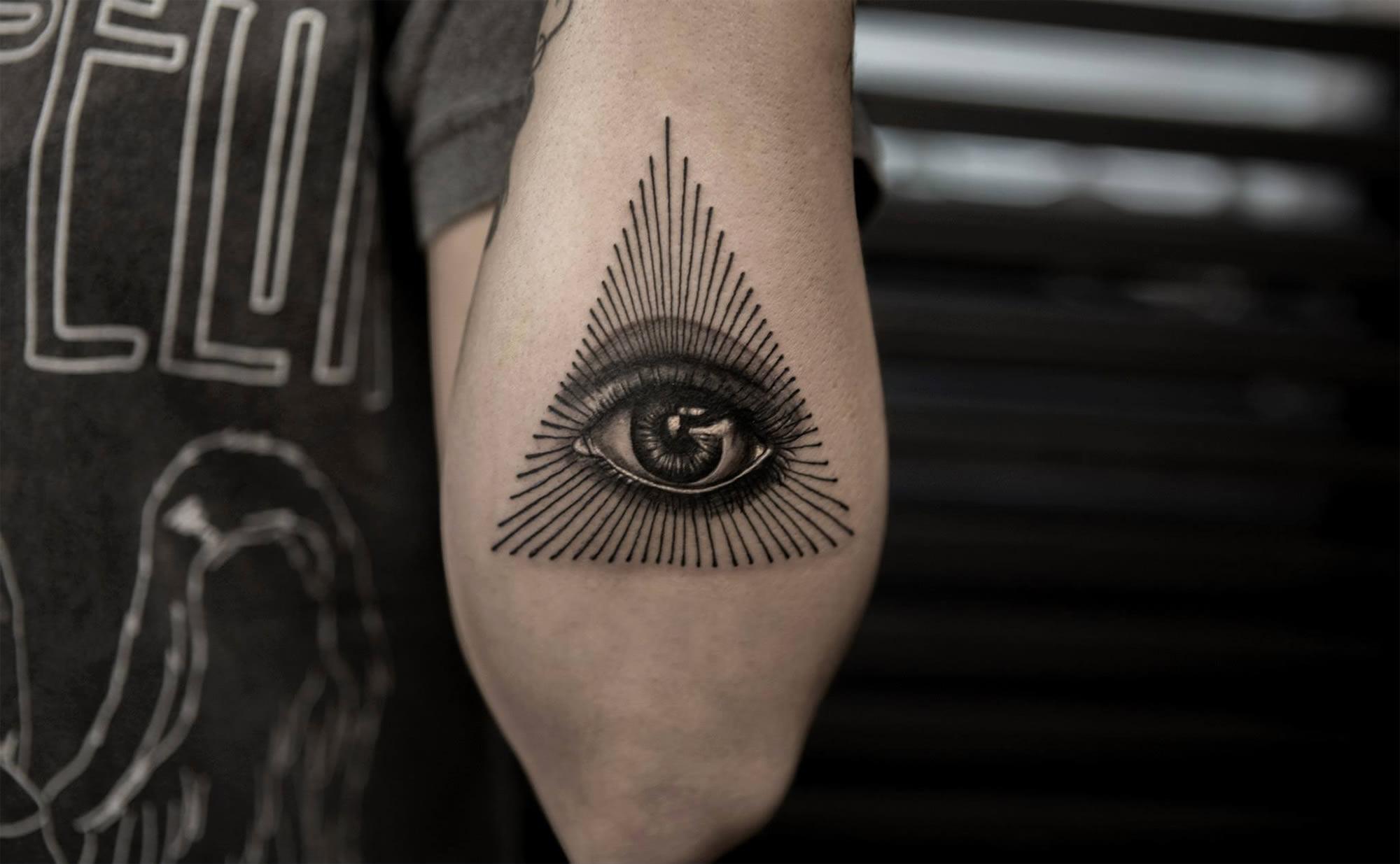 Hình xăm con mắt