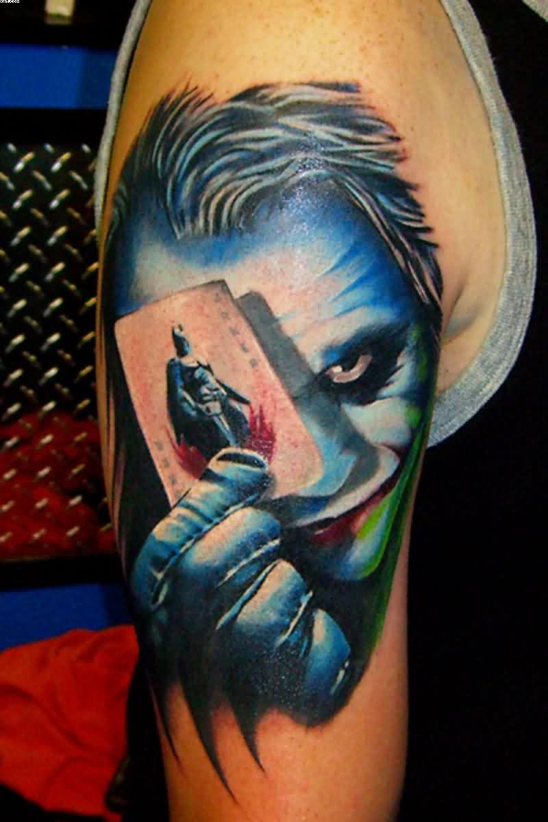 Hình xăm lá bài Joker đẹp nhất
