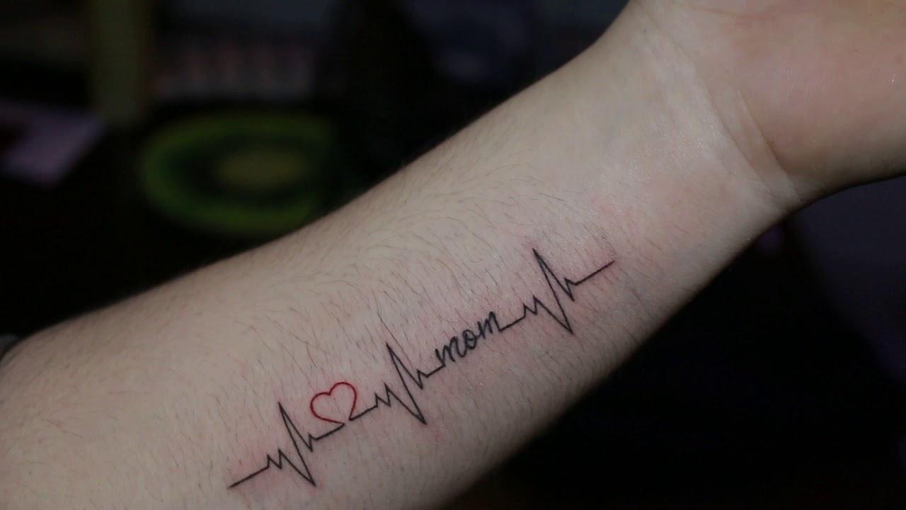 Hình xăm nhịp tim đẹp nhất