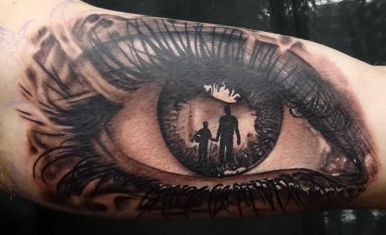 Hình xăm về con mắt