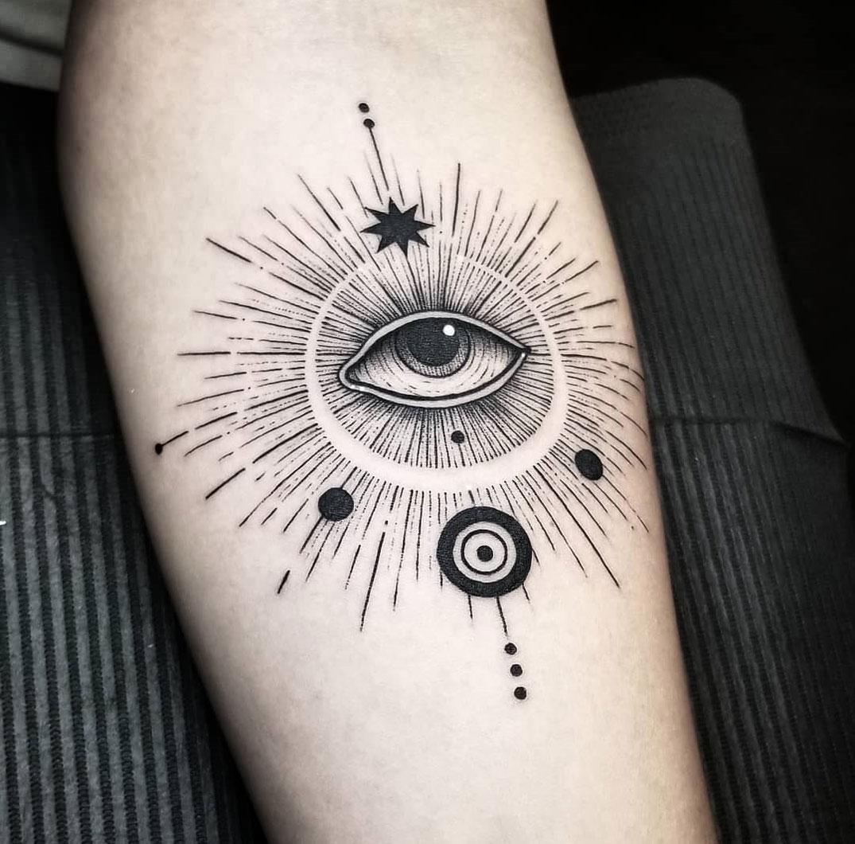 Xăm hình con mắt ai cập