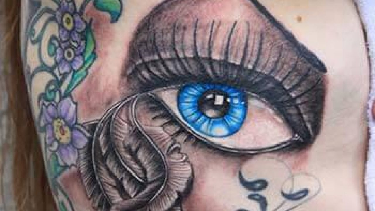 Xăm hình con mắt cho nữ đẹp nhất