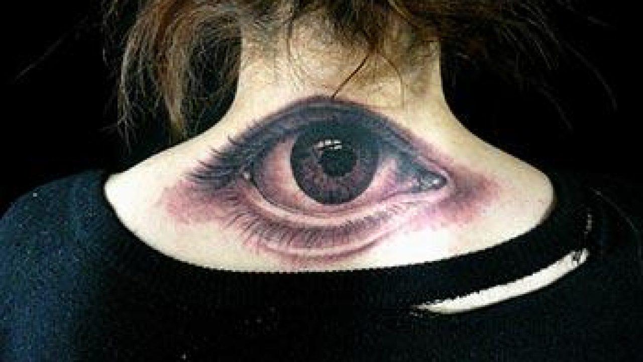 Xăm hình con mắt đơn giản nhất