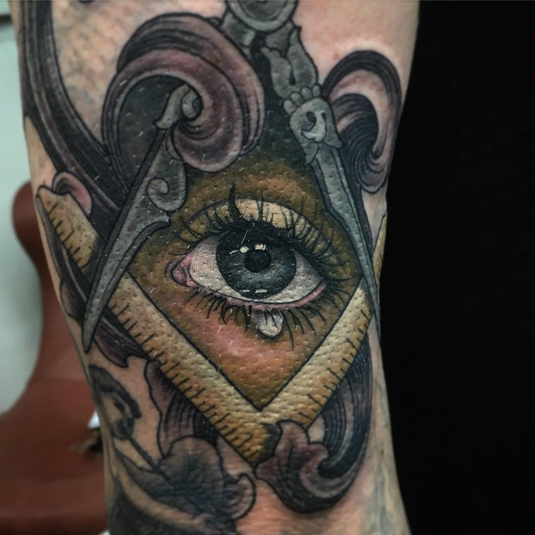 Xăm hình con mắt nghệ thuật đẹp nhất