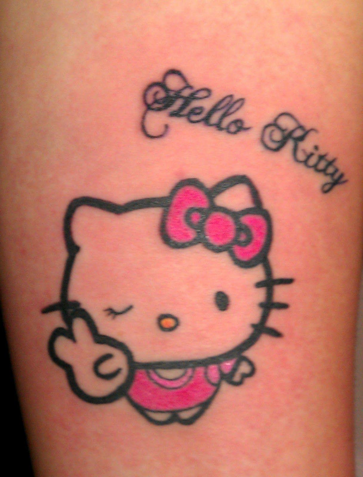 Xăm hình Hello Kitty