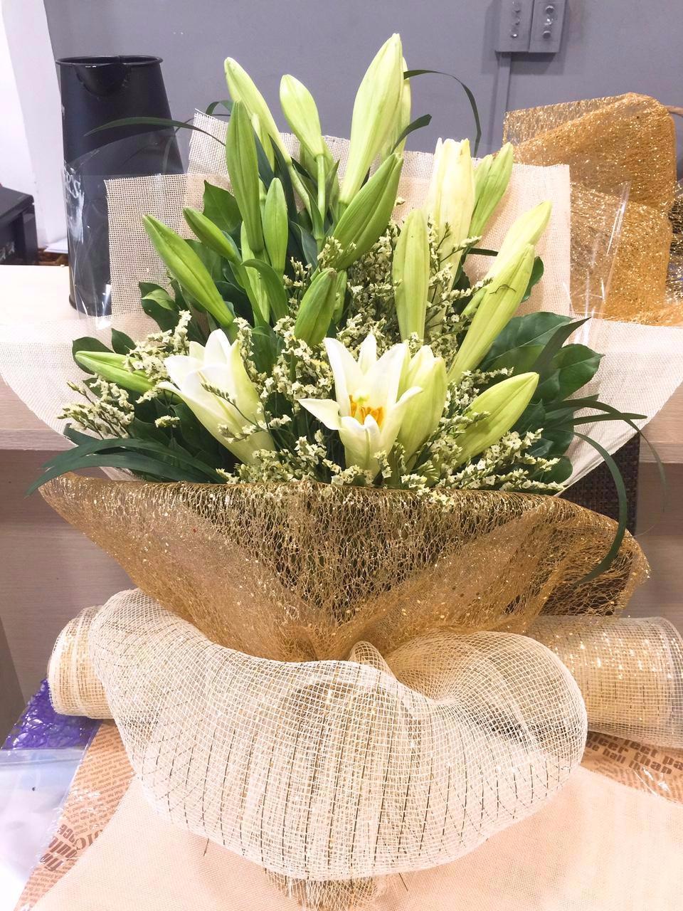 Hình ảnh đẹp về hoa loa kèn trắng