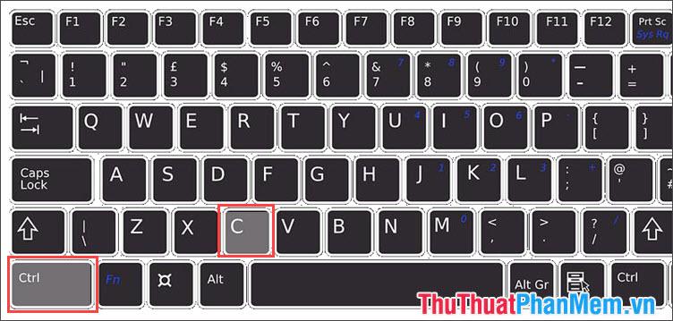 Phím Copy trên Windows, Linux