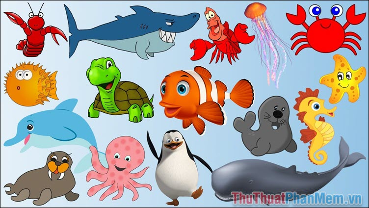 Con vật biển và dưới nước
