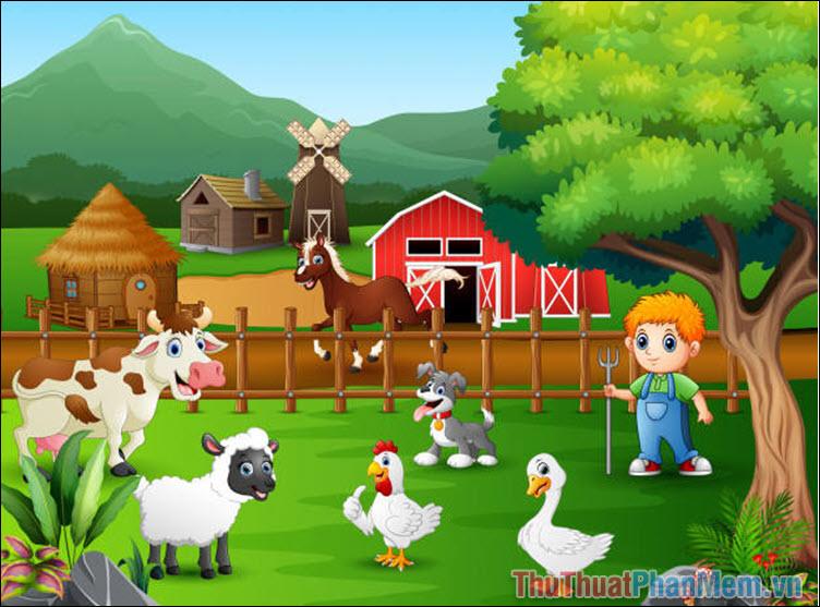 Từ vựng về các loài động vật nuôi trong gia đình