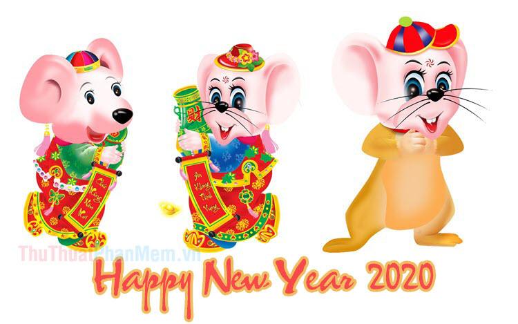 Hình nền chúc mừng năm mới 2020 - Hình nền tết 2020