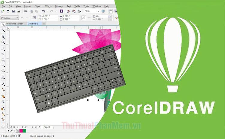 Phím tắt Corel - Toàn bộ phím tắt trong Corel Draw bạn cần biết