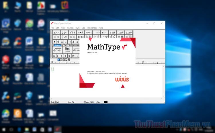 Phím tắt trong MathType - Toàn bộ phím tắt MathType bạn cần biết