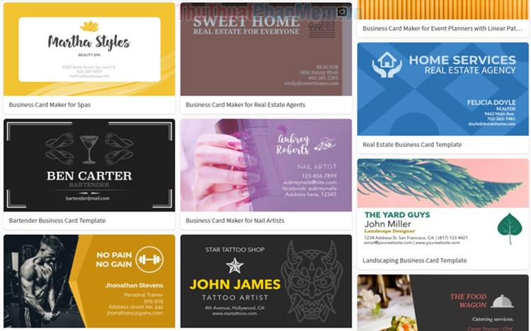 Top 5 Công cụ thiết kế Name Card Online đẹp và chuyên nghiệp nhất
