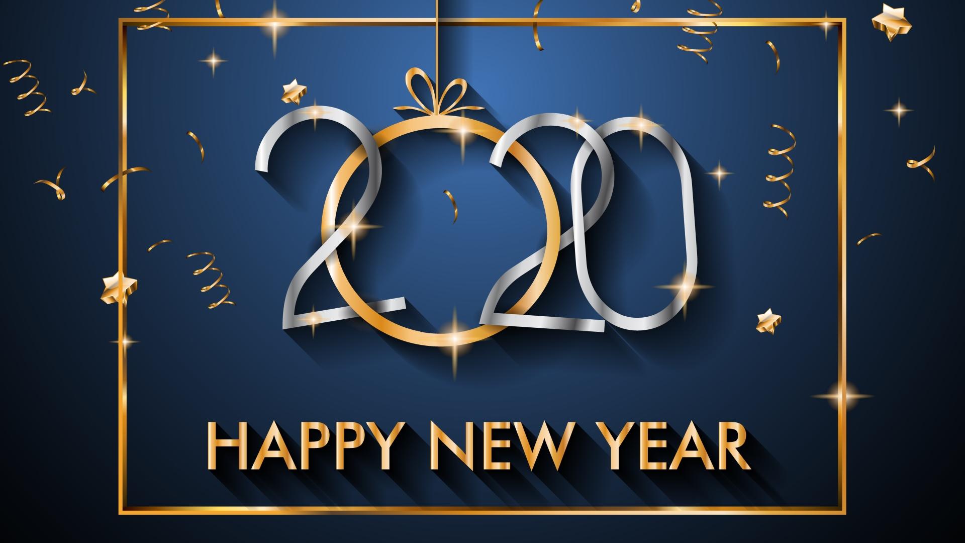 Ảnh nền chúc mừng năm mới 2020 full HD