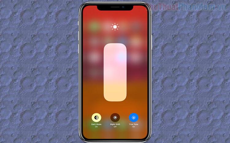 Cách bật tắt tính năng tự động điều chỉnh độ sáng màn hình trên iPhone
