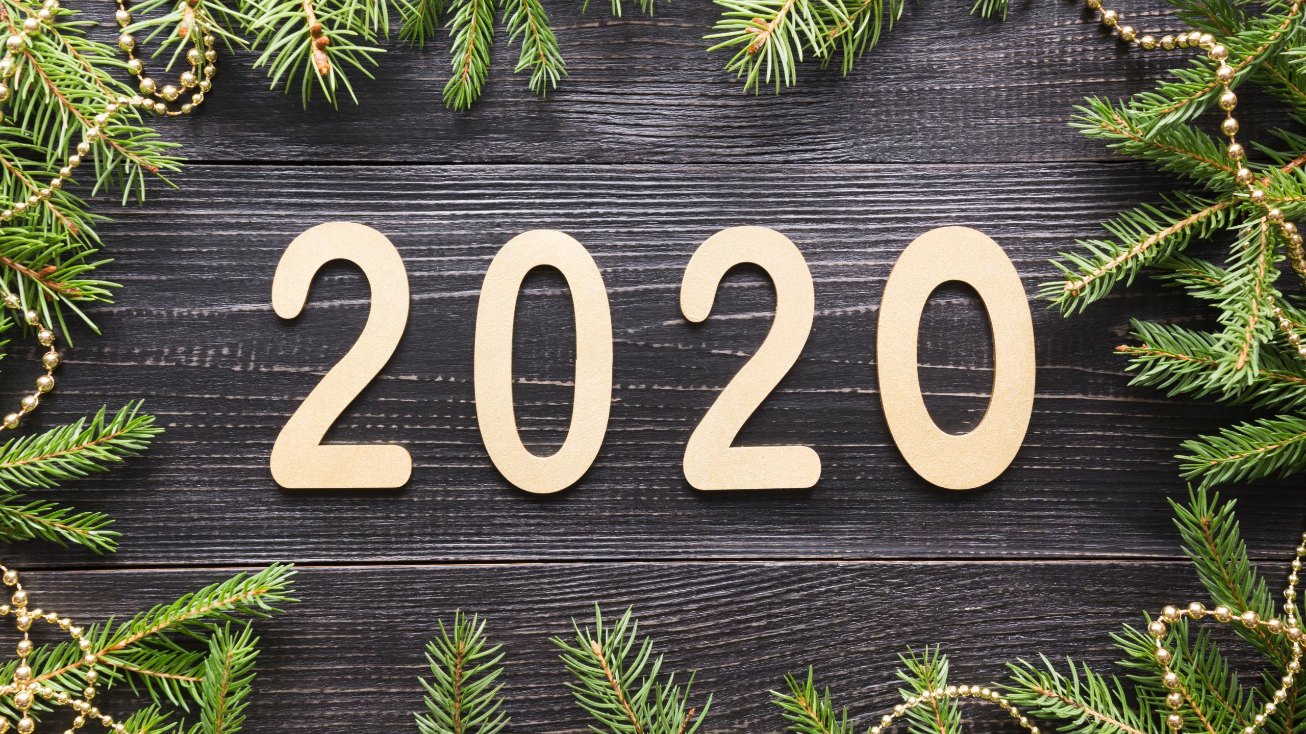 Hình nền 2K mừng năm mới 2020