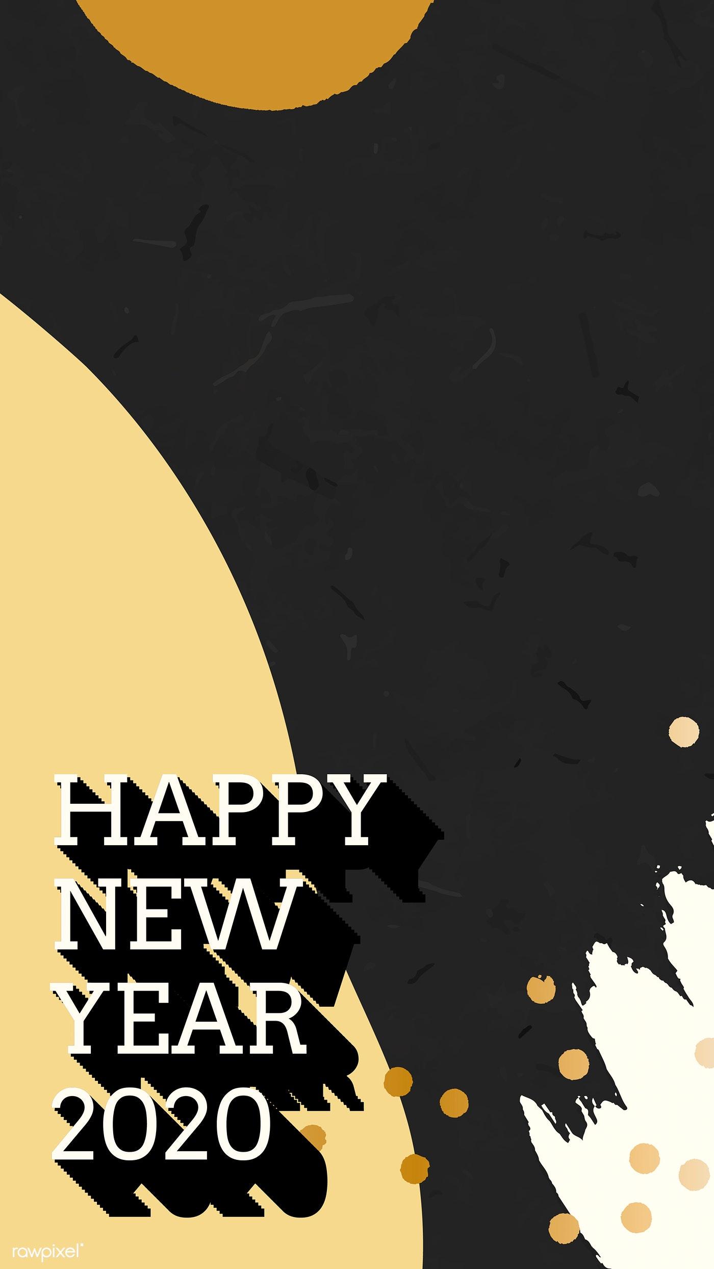 Hình nền chúc mừng năm mới cho điện thoại