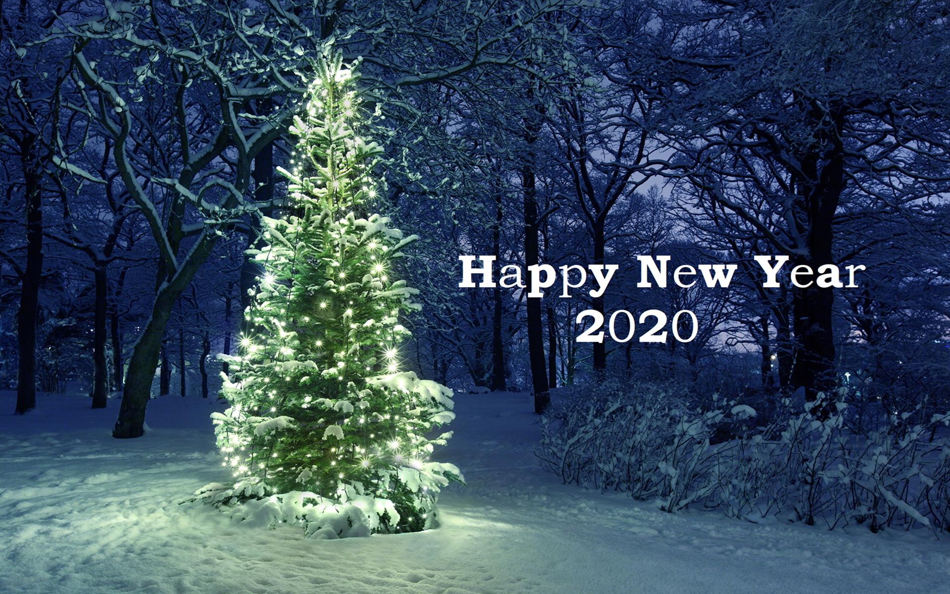 Hình nền chúc mừng năm mới đơn giản