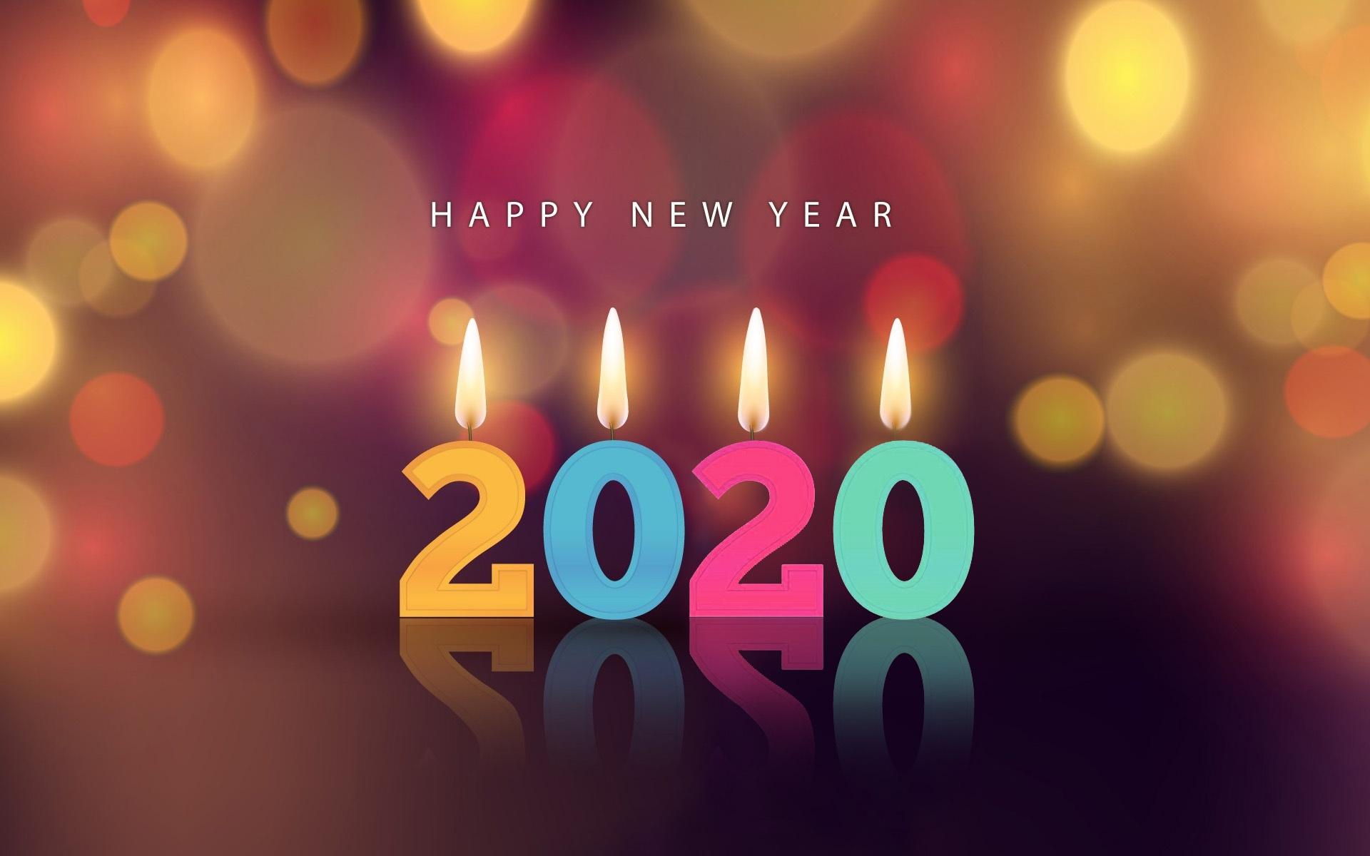 Hình nền full hd chúc mừng năm mới 2020