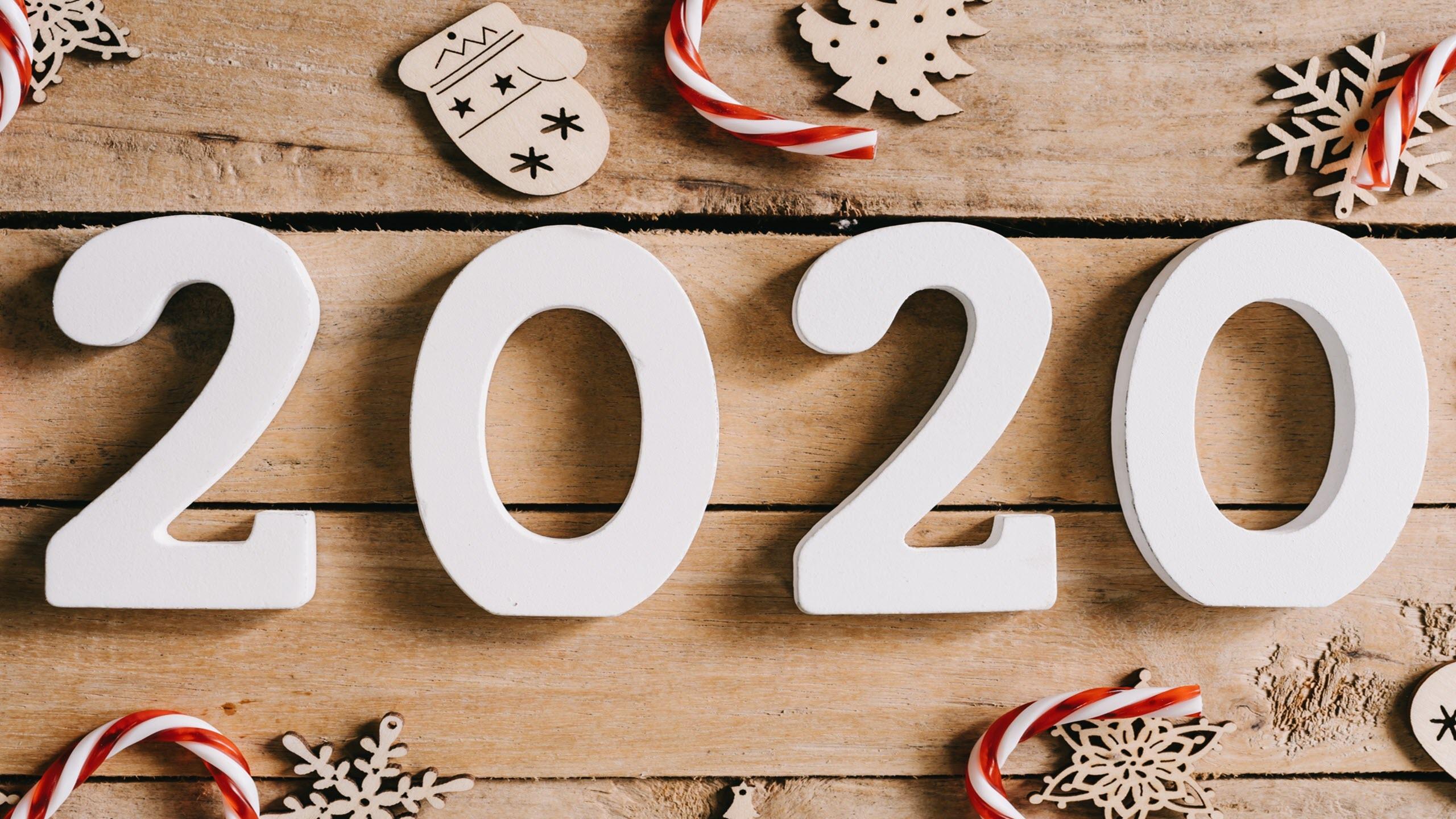 Hình nền năm mới 2020 4K