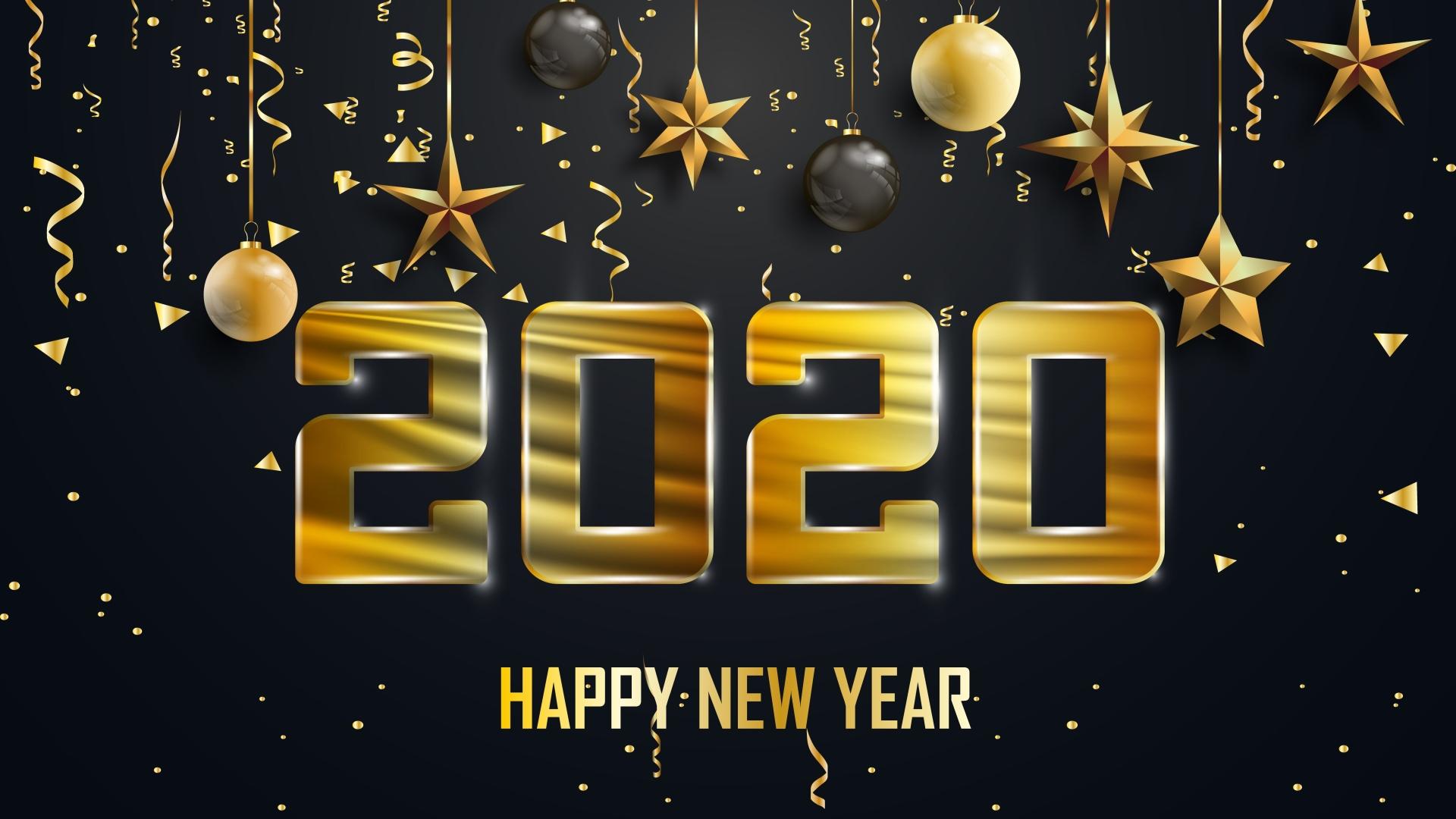 Hình nền năm mới 2020 cho desktop
