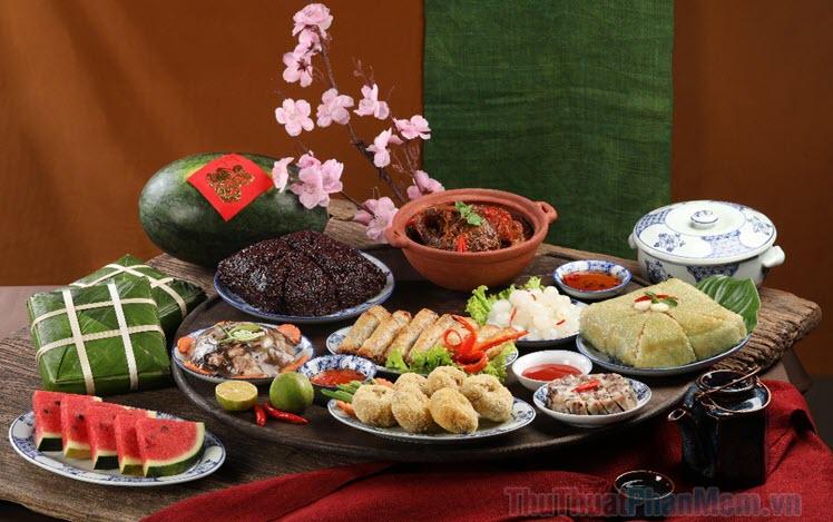 20 Món ăn ngày Tết cổ truyền của người Việt Nam