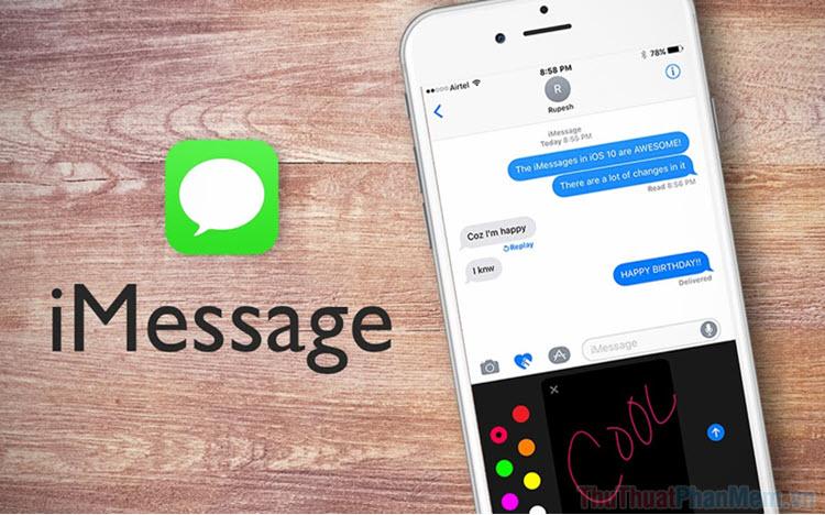 Cách sử dụng iMessage trên iPhone