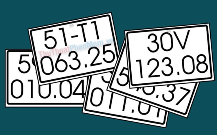 Ý nghĩa biển số xe, cách dịch biển số xe của bạn