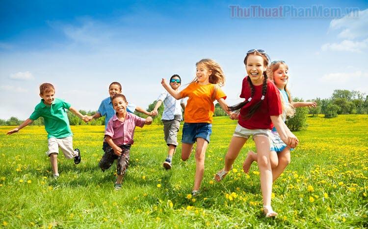 Những trò chơi vận động ngoài trời hay nhất cho trẻ