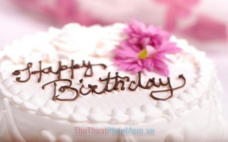 Những lời chúc sinh nhật bằng tiếng Trung hay và ý nghĩa nhất