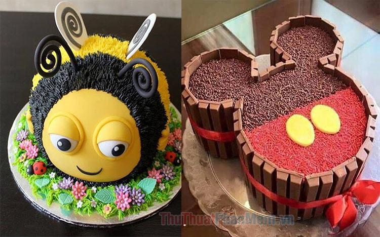 Những mẫu bánh sinh nhật ngộ nghĩnh nhất