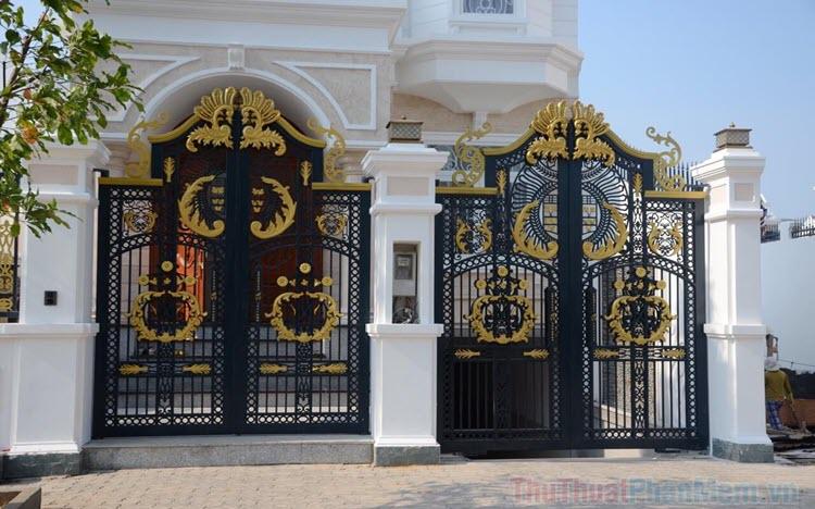 Tổng hợp những mẫu cổng nhà đẹp nhất