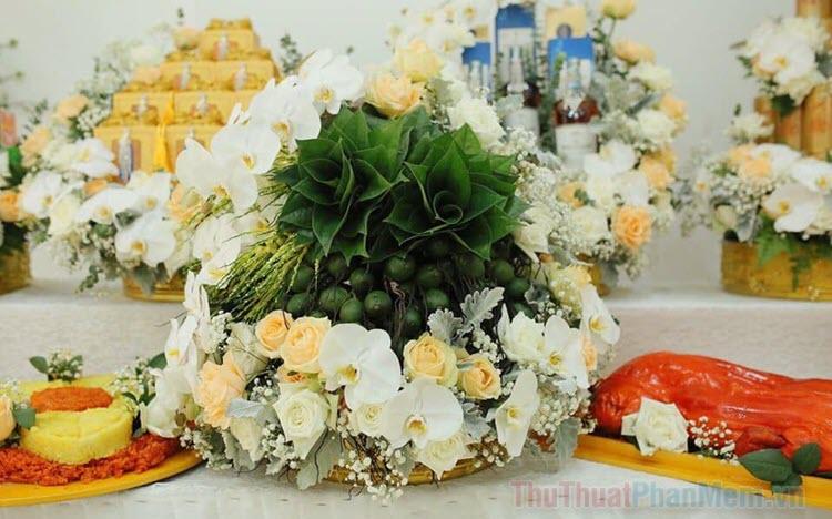 Những hình ảnh mâm quả đám cưới đẹp nhất
