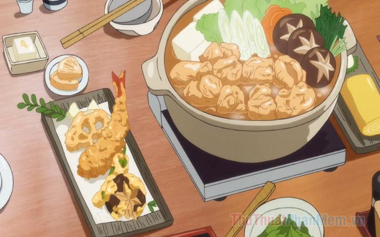Top những bộ Anime nấu ăn, ẩm thực hay nhất