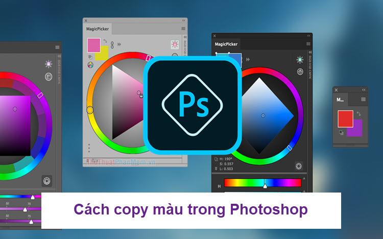 Cách copy màu trong Photoshop
