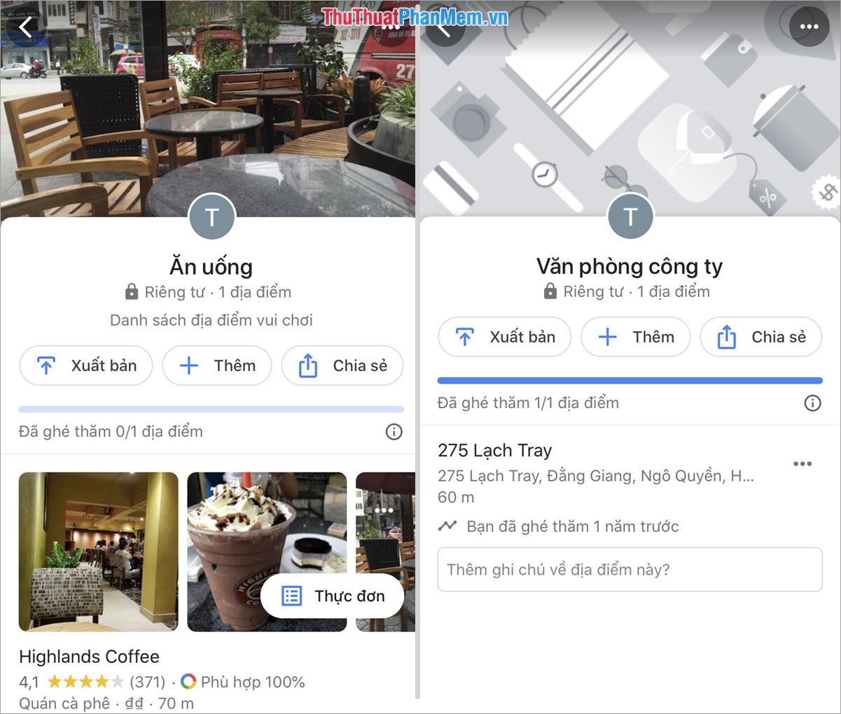 Bạn có thể chia sẻ địa điểm nên các nền tảng mạng xã hội khác cho nhiều người biết tới
